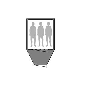 Outwell Footprint - Accessoire tente - Cloud 3 gris